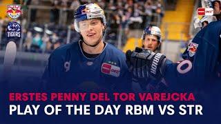 Play of the Day | PENNY DEL Partie Red Bull München vs Straubing Tigers 19.09.2021 | Filip Varejcka