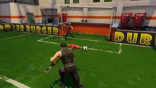 New Soccer Mode in Fortnite Battle Royale!? First Look At Shifty Shafts & New Church Graveyard