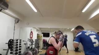 Rose Mac & Tom Devera-  Boxing drills