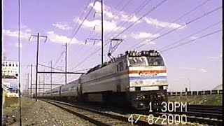 Amtrak Northeast Corridor Run-bys: 2000-2001