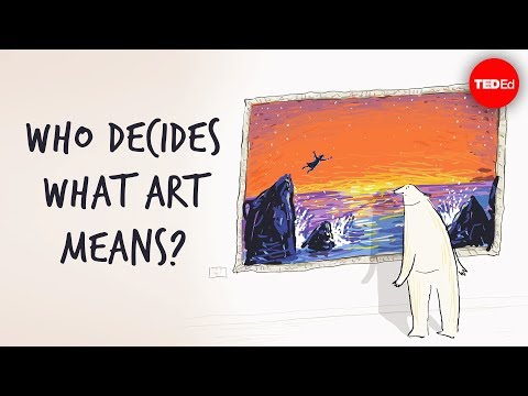 Video image: Who decides what art means? - Hayley Levitt