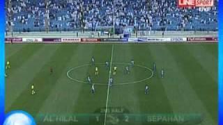 الهلال Vs سباهان الايراني دوري ابطال آسيا 2011 هدف الهلال