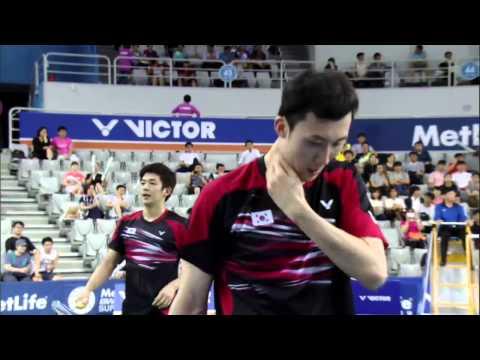 Victor Korea Open 2015 | Badminton QF M2-MD | Lee/Yoo vs Endo/Hay
