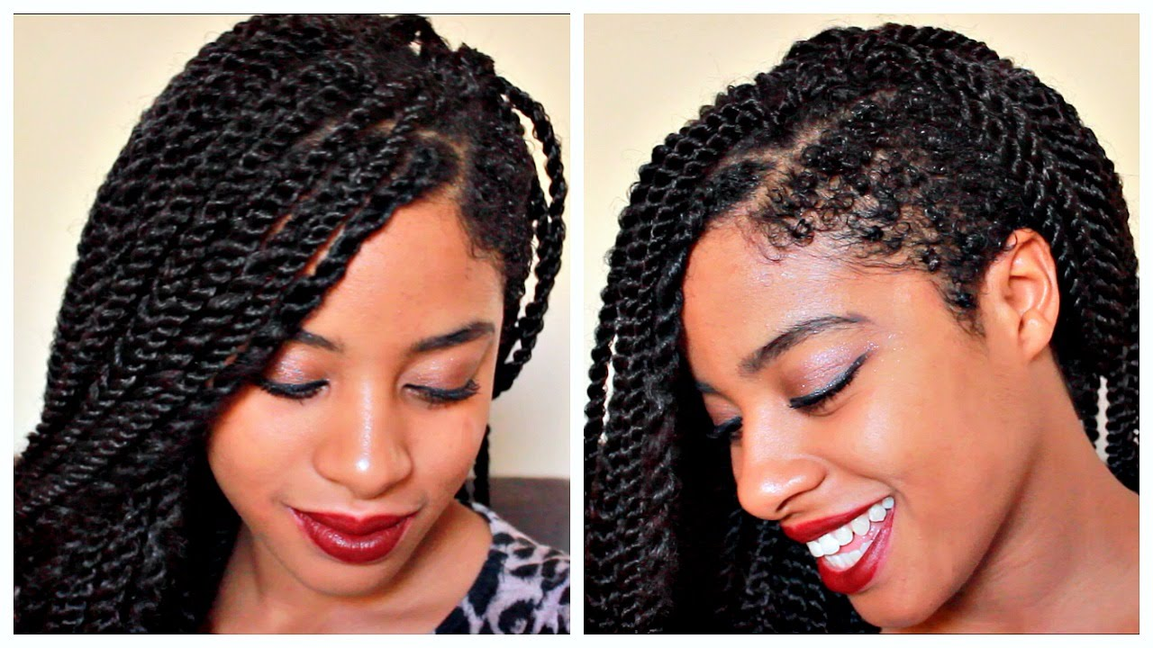 Tutorial Crochet Senegal Twist W Shaven Side Youtube