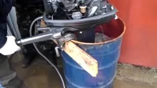 завести лодочный мотор после зимы