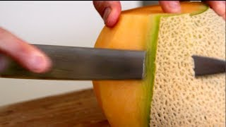 One of ByronTalbott's most viewed videos: Fruit Cutting-How to | Byron Talbott