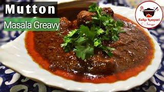 Mutton masala gravy by sumayya