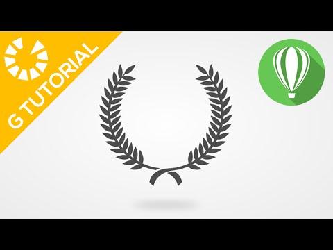 CorelDraw Tutorial #11 : Laurel Wreath ( G-Tutorial )