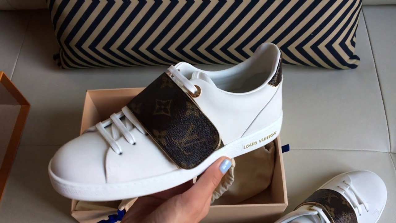 Louis Vuitton Frontrow Unboxing - YouTube