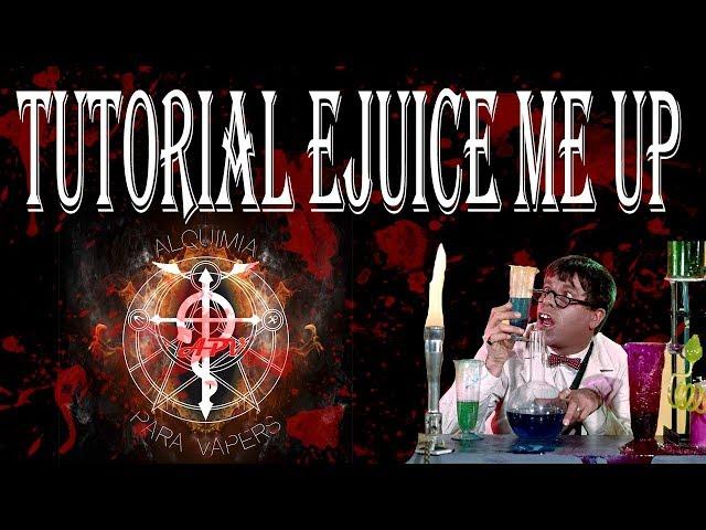 Tutorial  Ejuice me up (calculadora de alquimia)