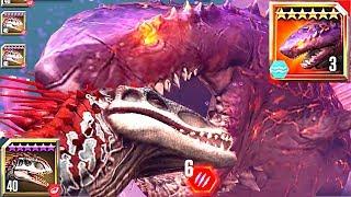 COLOSSUS04 VS.INDOMINUS REX!! コロッサス04vsインドミナスレックス  Indominus in the underwater 実況 恐竜