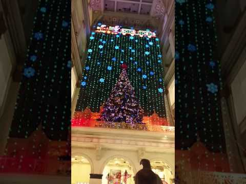 The Christmas show at Macy