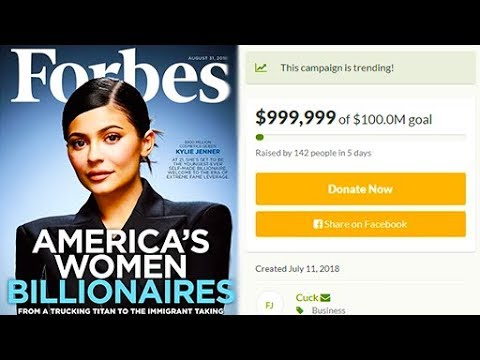 People Are Donating Money For Kylie Jenner To Become The World's Youngest Female Billionaire