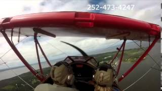 Outer Banks Biplane Air tour with Janet & Tom over the OBX Thumbnail