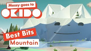 Messy Goes to Okido - Mountain Best Bits | Cartoons For Children | Cbeebies