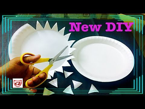 Beautiful Diy Decor Craft From Disposable Plates
