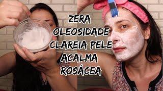 Mascara que Acalma a Pele e Controla a Oleosidade