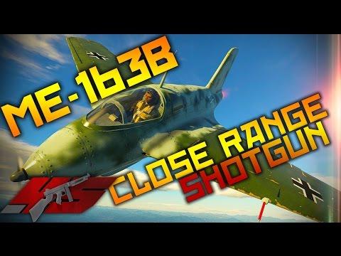 ▶ War Thunder : The Me-163B SHOTGUN!!