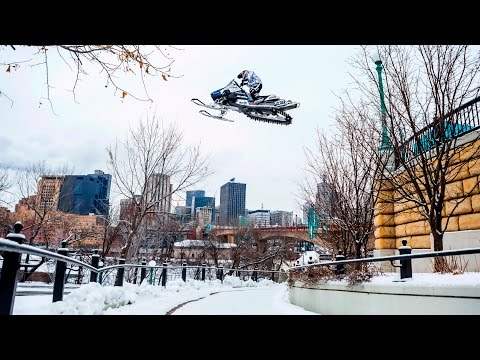 Urban Snowmobiling in Saint Paul | Levi LaVallee