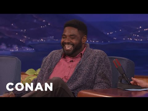 Ron Funches' New Cartoon Character Is Inspired By Trump  - CONAN on TBS