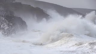 video: Storm Ellen's winds of up to 79mph set record for highest ever share of wind power to grid