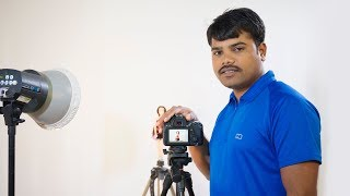 Studio photography | Camera  Exposure Settings | flashlight F-Stop