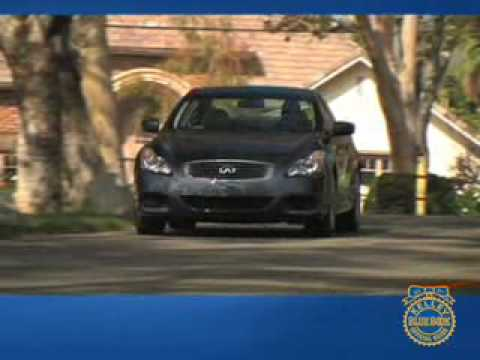 2008 Infiniti G37 Coupe Review Kelley Blue Book