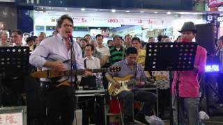 The sound of silence -- Ah Lam & Simon -- 3L樂隊151017MK