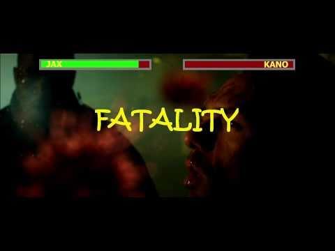 Mortal Kombat: Legacy - Jax VS Kano - ARCADE STYLE