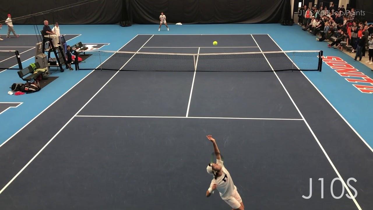 J10S April 2019 College Tennis Top Points