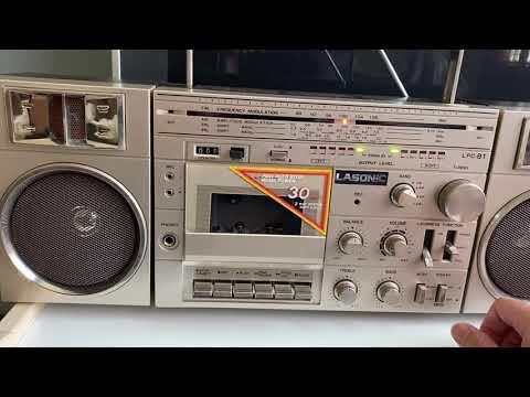 Like New Lasonic LPC-81 Radio Testing
