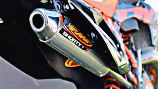 SOUND CHECK FMF SHORTY KTM EXC 300 || motoracingshop