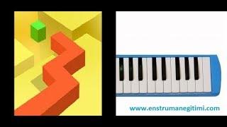 Melodika Eğitimi - Dancing Line Melodika Resimi