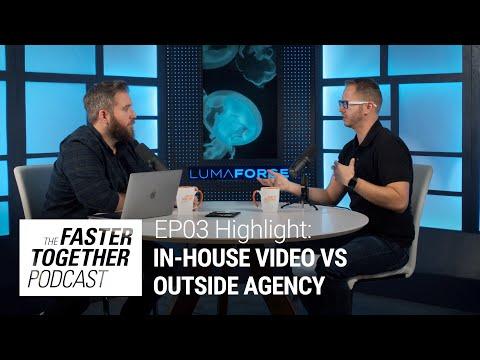 In-House Video Teams Vs. External Vendor Production Companies