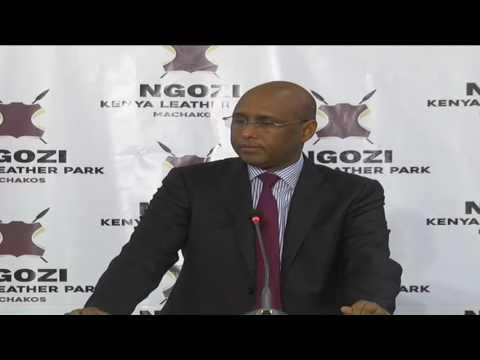 Investors keen on Kenya's 500ha leather industrial park