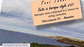 Suite in baroque style nº21 in C minor