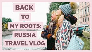 Back To My Roots| Russia Travel Vlog | Part 1
