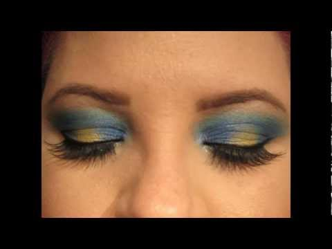 TUTORIAL: Royal Blue and Gold