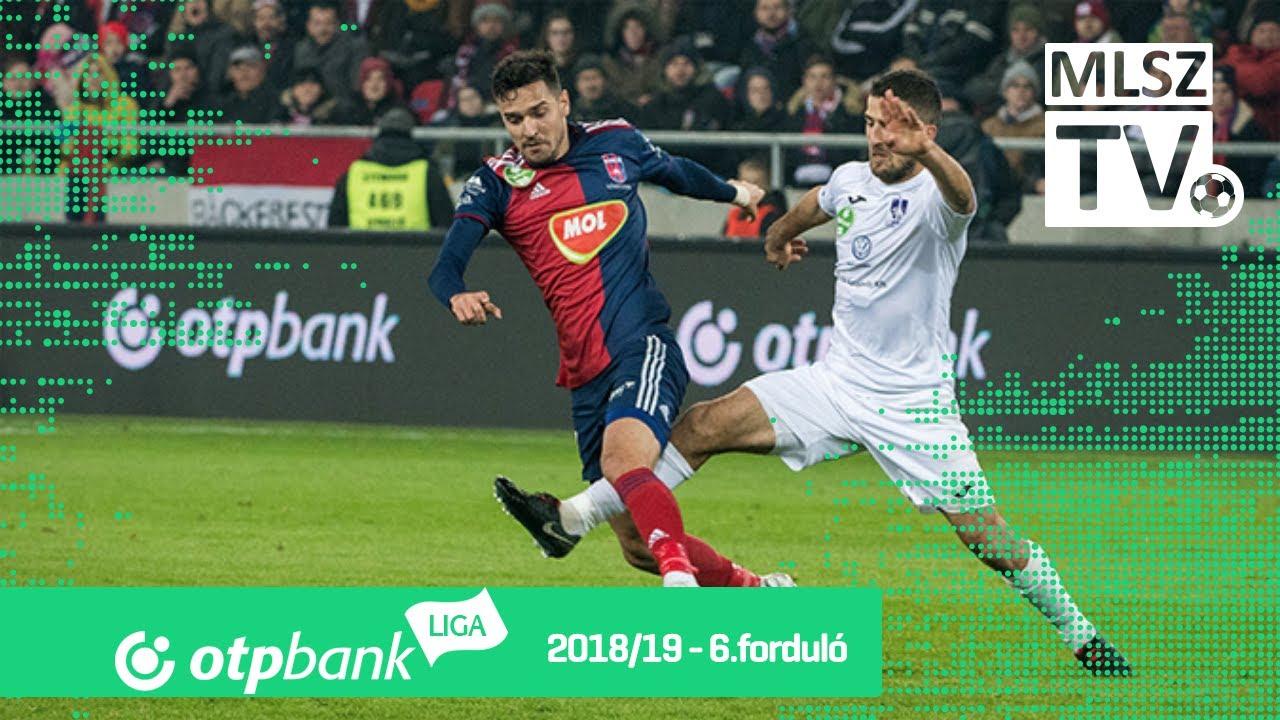 Mol Vidi FC - Újpest FC | 1-0 (0-0) | OTP Bank Liga | 6. forduló | 2018/2019