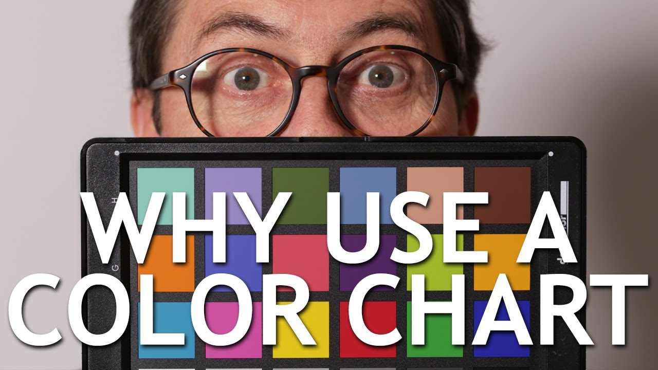 why use a color chart youtube