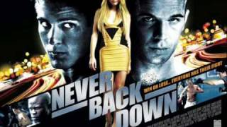 Above and Below [Never Back Down OST] - The Bravery