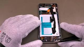 Sony Xperia Z3 Backcover Reparatur - handyreparatur123