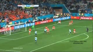 Нидерланды 0 0 Аргентина 0 0 2 4 пен 9 июля 2014 г, 1 2 финала Чемпионата мира