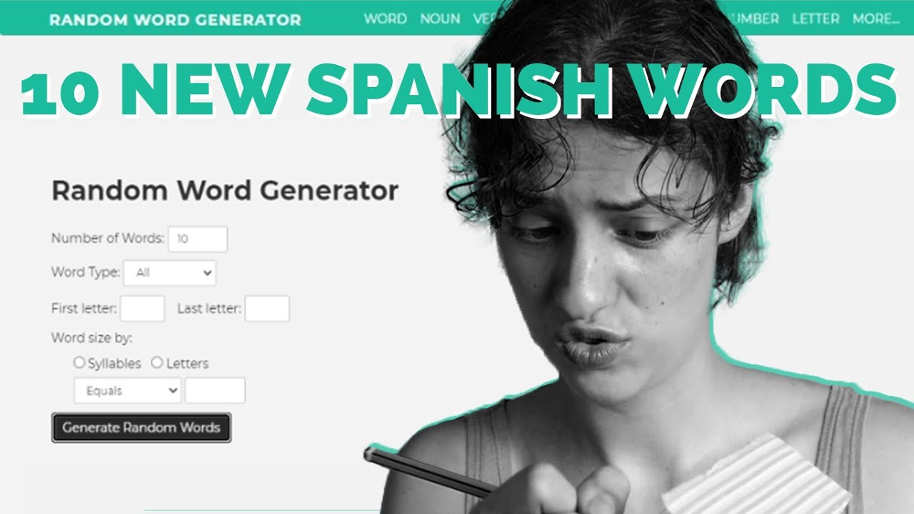 LEARN 10 NEW SPANISH WORDS // Easy Spanish STORY