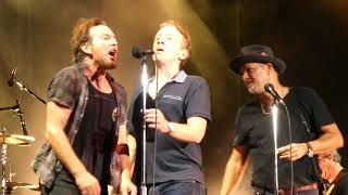 Pearl Jam - Dirty Frank / Dirty Water w/B. Janovitz & D. Clinch - Fenway Park (September 4, 2018)