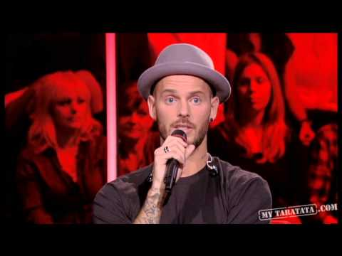 M. Pokora - Interview ( Live On Taratata Nov 2012)