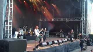 Six Feet Under - 2012 tour video