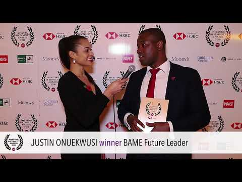 Ethnicity Awards 2018: BAME Future Leaders: Justin Oneukwusi, LGIM