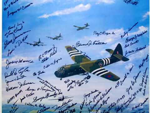 """Gliders on D-Day"" Print - Signed by 50+ Normandy Veterans!"