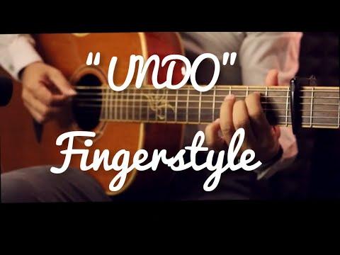 UNDO  POP Ft.WONDERFRAME Fingerstyle Guitar Cover (TAB)